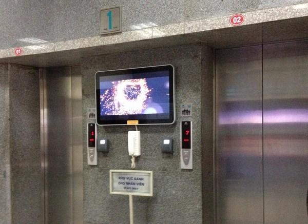 Hộp gọi tầng thang máy