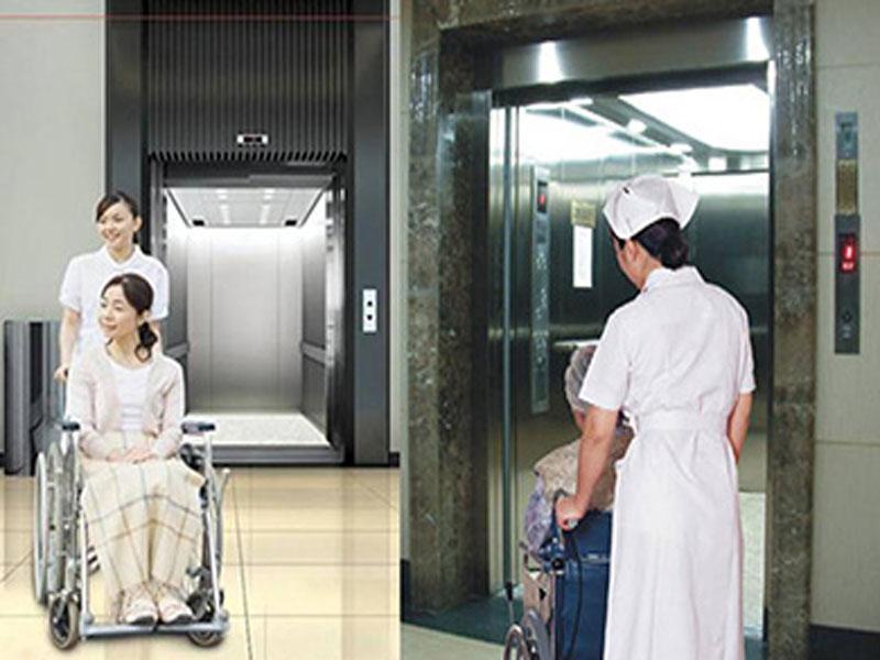 cách sử dụng thang máy bệnh viện