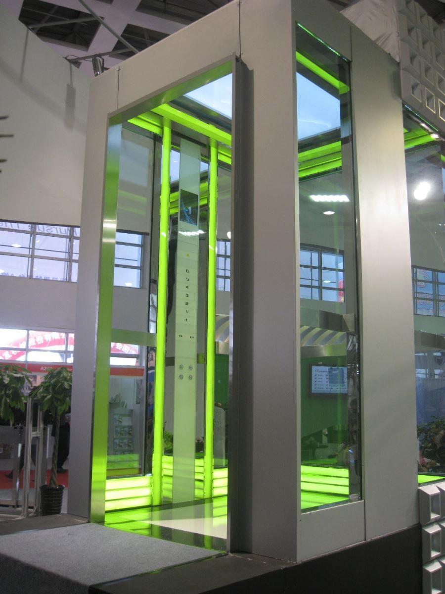 Kích thước thang máy quan sát tiêu chuẩn