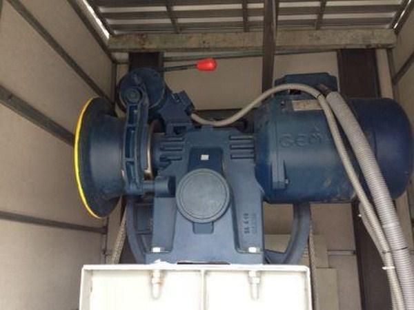 Máy kéo thang máy có hộp số